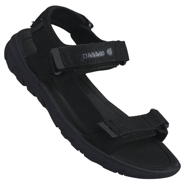 Black-Black - Back - Dare 2b Mens Xiro Sandals