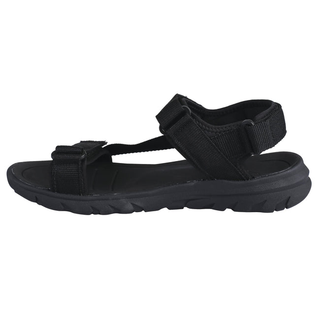 Black-Black - Side - Dare 2b Mens Xiro Sandals