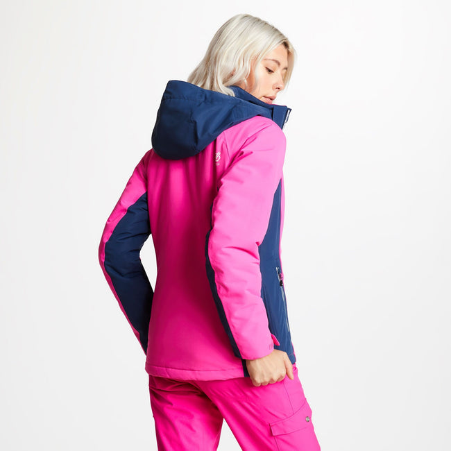 Cyber Pink - Lifestyle - Dare 2b Womens-Ladies Thrive Ski Jacket