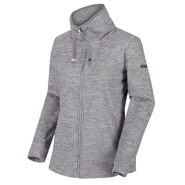 Rock Grey - Front - Regatta Womens-Ladies Evanna Full Zip Lightweight Fleece
