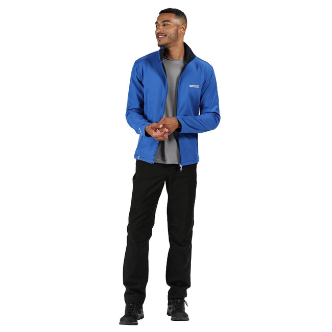 Nautical Blue - Side - Regatta Mens Cera IV Softshell Jacket