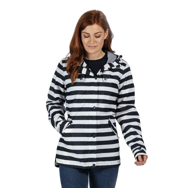 White - Front - Regatta Womens-Ladies Bertille Waterproof Jacket