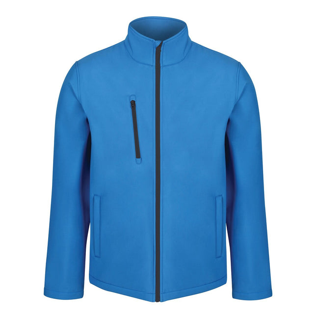 Seal Grey - Front - Regatta Mens Ablaze 3 Layer Softshell Jacket