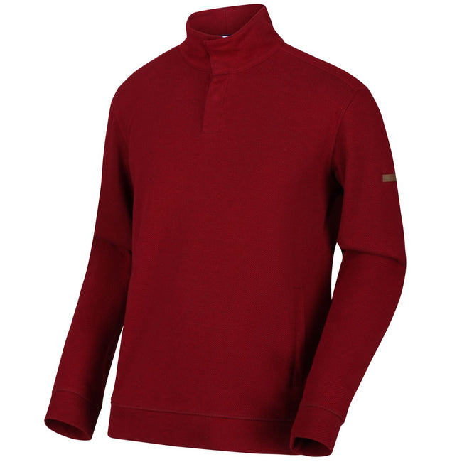 Delhi Red - Side - Regatta Mens Theon Sweatshirt