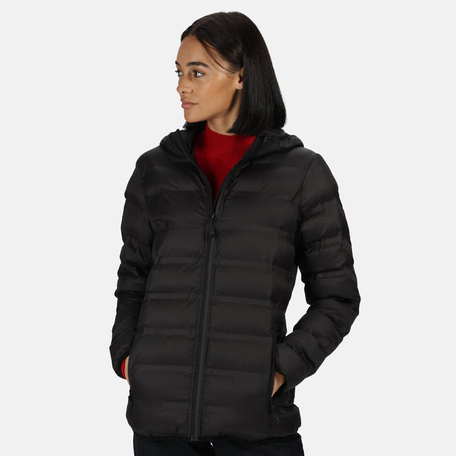 Black - Back - Regatta Womens-Ladies X-Pro Icefall III Insulated Jacket