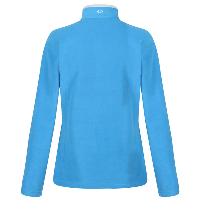 Blue Aster - Back - Regatta Great Outdoors Womens-Ladies Adventure Tech Clemance II Fleece Top
