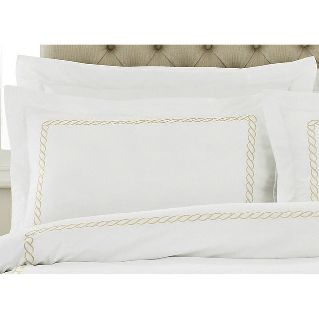Gold - Back - Riva Home Cleopatra Pillow Case