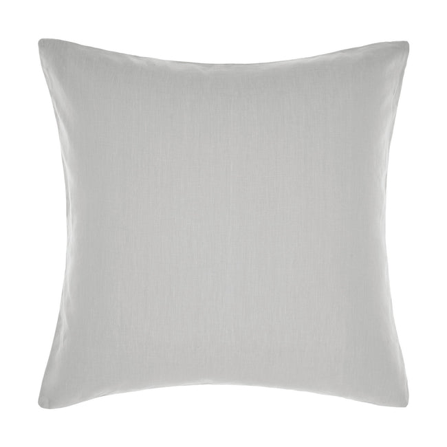 Grey - Front - Linen House Nimes Continental Sham Pillowcase Cover