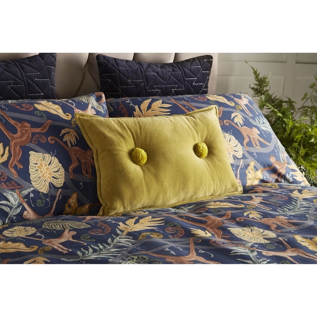 Midnight Blue - Lifestyle - Furn Monkey Forest Duvet Cover Set