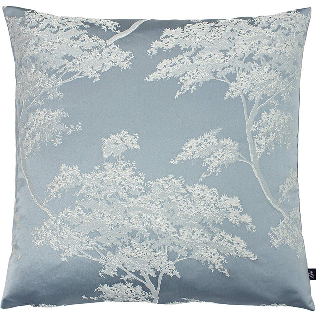 Sky Blue-Cornflower Blue - Front - Ashley Wilde Japonica Cushion Cover