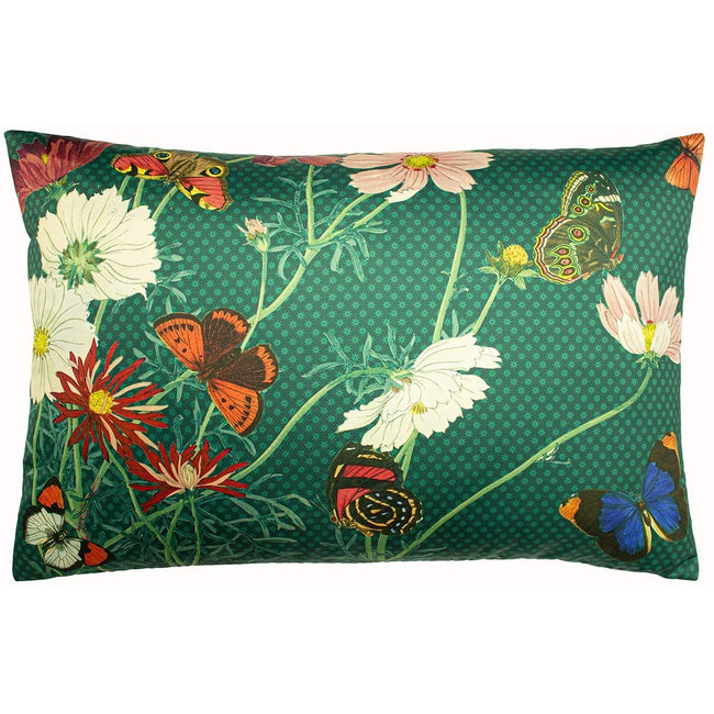 Emerald Green - Front - Paoletti Wild Fauna Cushion Cover