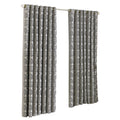 Silver - Front - Riva Home Hanover Ringtop Curtains