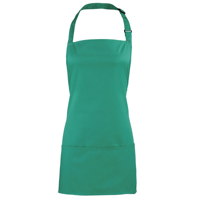 Emerald - Front - Premier Colours 2-in-1 Apron - Workwear