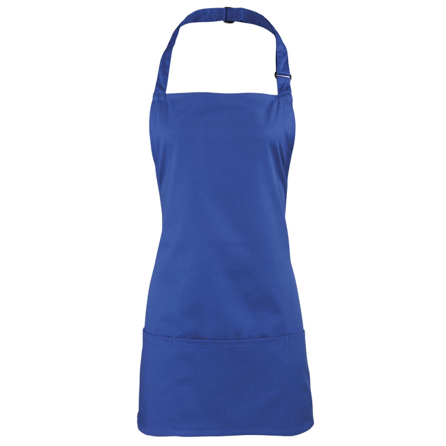 Royal - Front - Premier Colours 2-in-1 Apron - Workwear