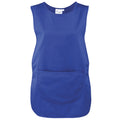 Royal - Front - Premier Ladies-Womens Pocket Tabard - Workwear