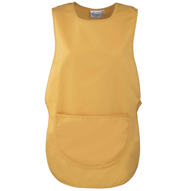 Sunflower - Front - Premier Ladies-Womens Pocket Tabard - Workwear