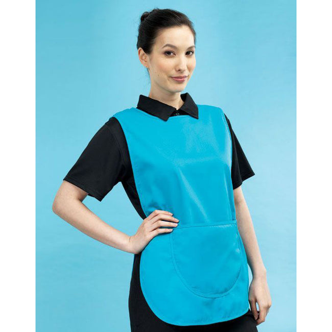 Turquoise - Back - Premier Ladies-Womens Pocket Tabard - Workwear