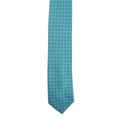 Turquoise - Back - Premier Mens Mini Squares Fashion Tie