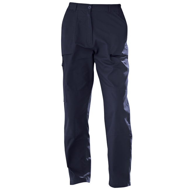 Navy - Front - Regatta New Womens-Ladies Action Sports Trousers