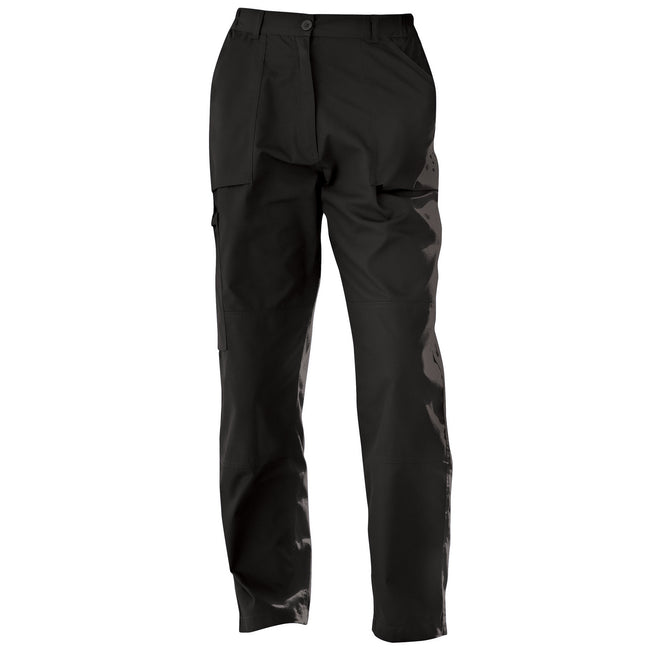 Black - Front - Regatta New Womens-Ladies Action Sports Trousers