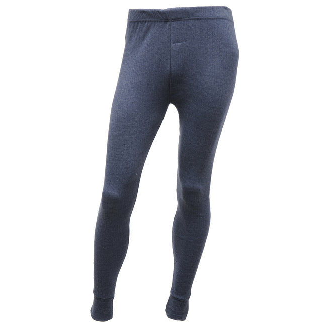 Denim - Front - Regatta Mens Thermal Underwear Long Johns