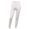 White - Front - Regatta Mens Thermal Underwear Long Johns