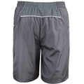 Grey-Lime - Side - Spiro Mens Micro-Team Sports Shorts