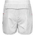 White-Red - Back - Spiro Mens Micro-Team Sports Shorts