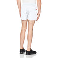 White-Red - Side - Spiro Mens Micro-Team Sports Shorts