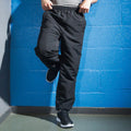 Black - Lifestyle - Tombo Teamsport Mens Sports Lined Tracksuit Bottoms - Jog Pants