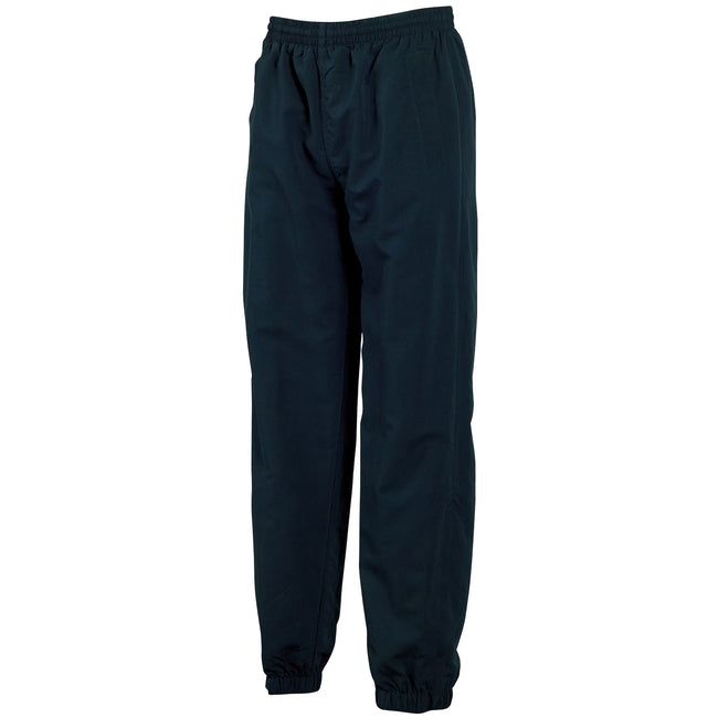 Navy - Front - Tombo Teamsport Mens Sports Lined Tracksuit Bottoms - Jog Pants