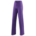 Purple - Front - Awdis Girlie Womens Jogpants - Sweatpants - Jogging Bottoms