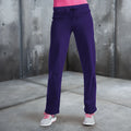Purple - Back - Awdis Girlie Womens Jogpants - Sweatpants - Jogging Bottoms