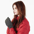 French Navy - Front - Beechfield Unisex Suprafleece Anti-Pilling Alpine Winter Gloves