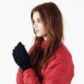 Sky Blue - Front - Beechfield Unisex Suprafleece Anti-Pilling Alpine Winter Gloves