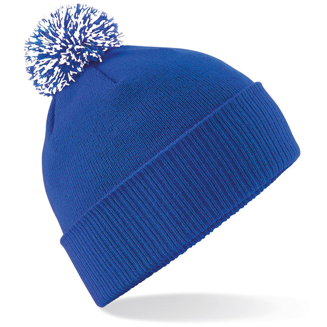 Gold-Black - Front - Beechfield Girls Snowstar Duo Extreme Winter Hat