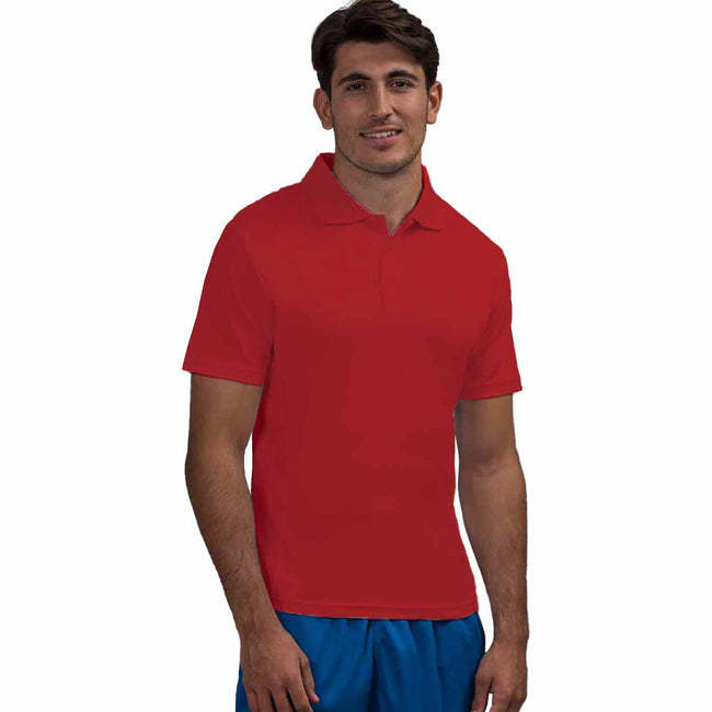 Royal Blue - Front - AWDis Cool Mens SuperCool Sports Performance Short Sleeve Polo Shirt