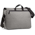 Grey Marl - Back - BagBase Two-tone Digital Messenger Bag (Up To 15.6inch Laptop Compartment)