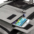 Grey Marl - Pack Shot - BagBase Two-tone Digital Messenger Bag (Up To 15.6inch Laptop Compartment)
