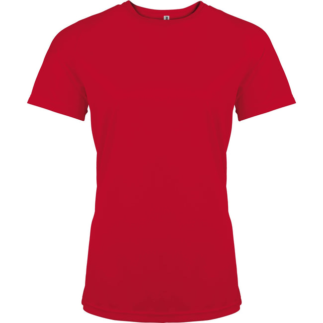 Red - Front - Kariban Proact Womens Performance Sports - Training T-shirt