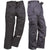 Black - Front - Portwest Womens-Ladies Action Work Trousers - Pant