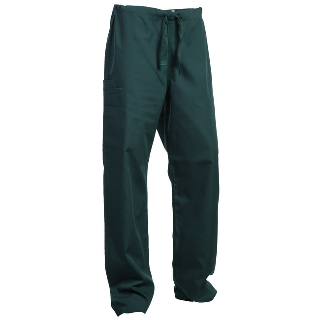 Hunter Green - Front - Cherokee Ladies-Womens Trouser Drawstring Waist