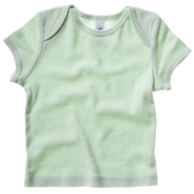 Pale Green - Front - Bella + Canvas Baby Unisex Short Sleeve Rib T-Shirt