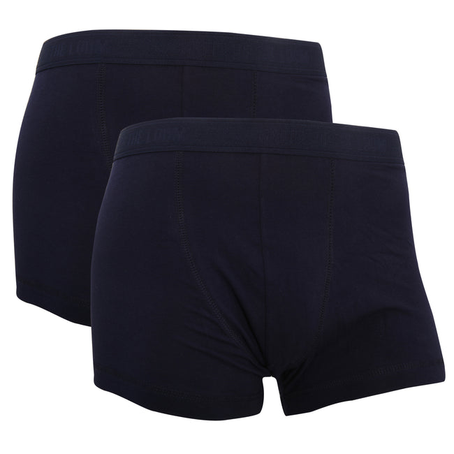 Light Grey Marl - Front - Fruit Of The Loom Mens Classic Shorty Cotton Rich Boxer Shorts (Pack Of 2)