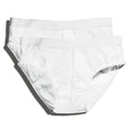 White - Front - Fruit Of The Loom Mens Classic Sport Briefs (Pack Of 2)