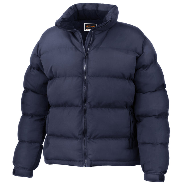 Navy - Front - Result Womens-Ladies Urban Outdoor La Femme® Holkham Down Feel Performance Jacket