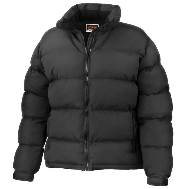 Black - Front - Result Womens-Ladies Urban Outdoor La Femme® Holkham Down Feel Performance Jacket