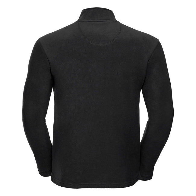 Classic Red - Back - Russell Europe Mens Full Zip Anti-Pill Microfleece Top