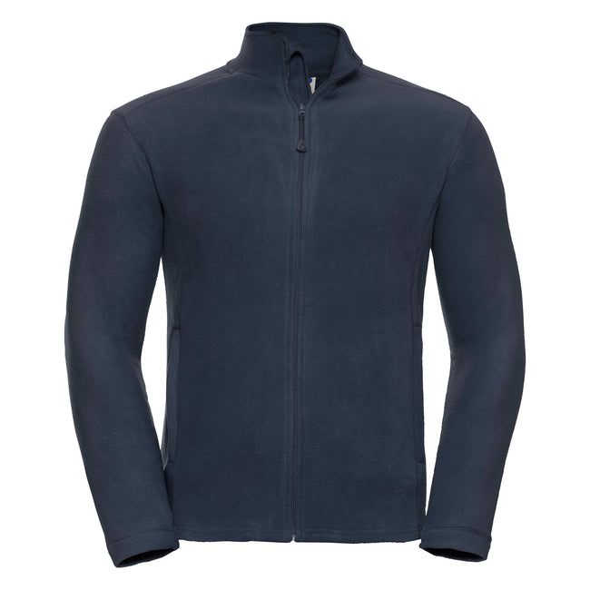 Classic Red - Side - Russell Europe Mens Full Zip Anti-Pill Microfleece Top