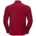 French Navy - Back - Russell Europe Mens Full Zip Anti-Pill Microfleece Top